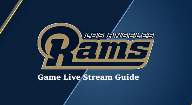 rams game live stream