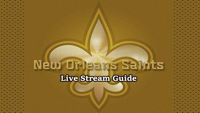 saints game live stream
