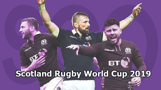 Scotland Rugby World Cup 2019 Live