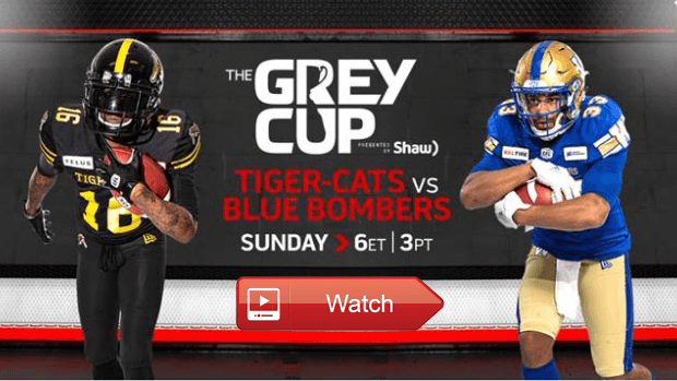 How to Watch 2019 Grey Cup Live