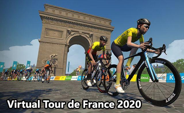 Virtual Tour de France 2020 live